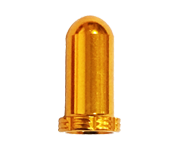鋁合金法式氣嘴蓋(金)