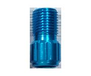 鋁合金氣嘴轉接頭(藍)