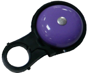 N+1 彩虹色系車鈴/紫