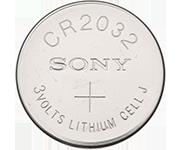 CR2032水銀電池