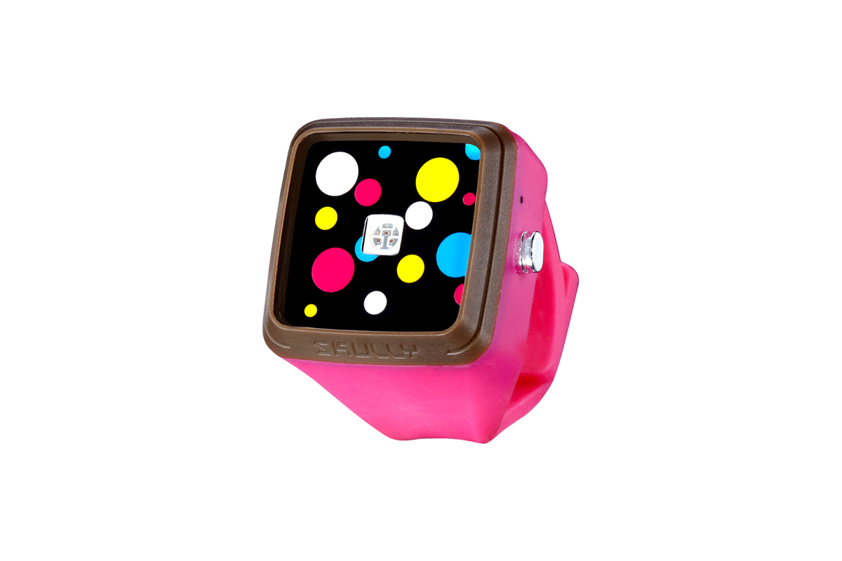 Skully TICKTOCK手錶燈(白光) - 桃紅