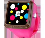 Skully TICKTOCK手錶燈(紅光) - 桃紅