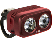 Knog ROAD 250充電式防水前燈(鑽石紅)