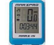 MARSPRO 多功能有線背光碼錶(藍)
