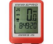 MARSPRO 多功能有線背光碼錶(紅)