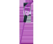鋁合金側腳架(紫)