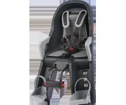 Polisport Guppy Mini 前座型嬰幼兒座椅(深灰/銀)