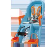 Polisport Guppy Mini 前座型嬰幼兒座椅(藍/橙)
