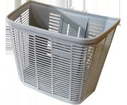 灰色塑膠菜籃