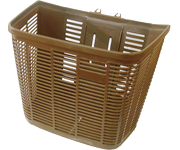 咖啡色塑膠菜籃