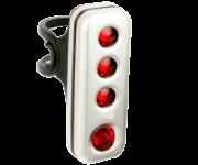 ROAD R70充電式防水後燈/銀殼