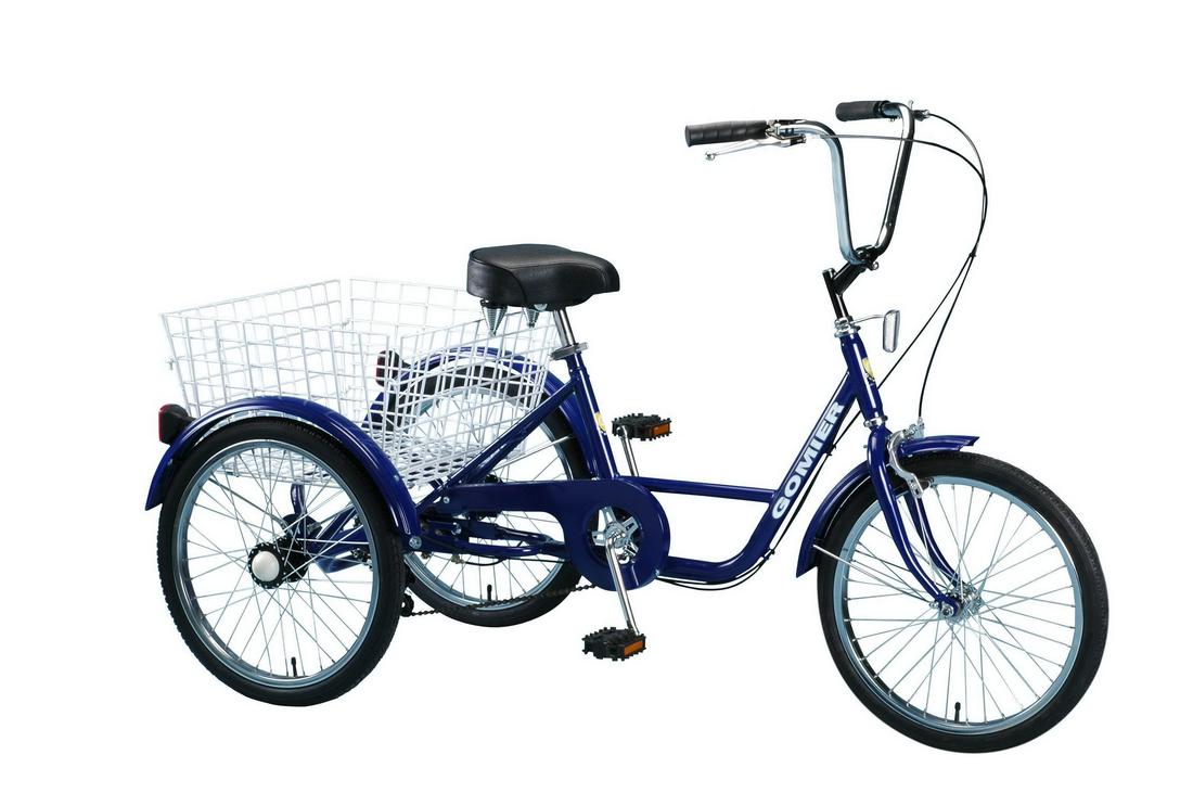20吋三輪車/藍色