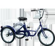 24吋三輪車/藍色