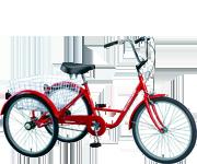 24吋三輪車/紅色