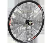 WheelSport Sonic pro 26吋碳纖維碟煞輪組