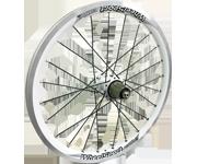 WheelSport Shadow 406小徑車碟煞輪組