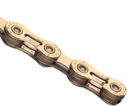 YBN 9速半中空鏈條(鍍鈦)