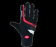 冬季長指手套/黑紅