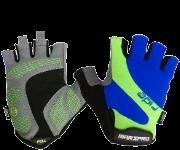 Gel半指手套/黑藍綠
